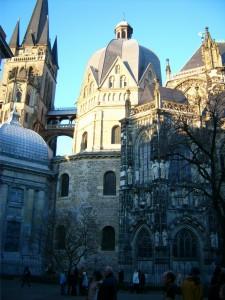 Aachener Dom im Dezember 2007