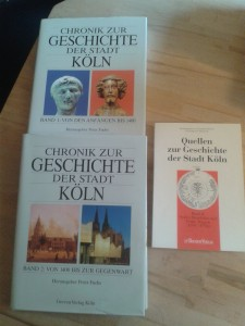 Chronik zur Geschichte der Stadt Köln