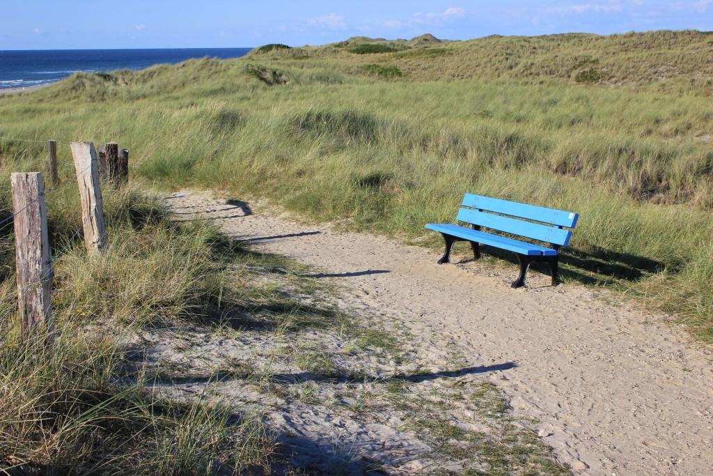 Foto Parkbank an der Nordsee