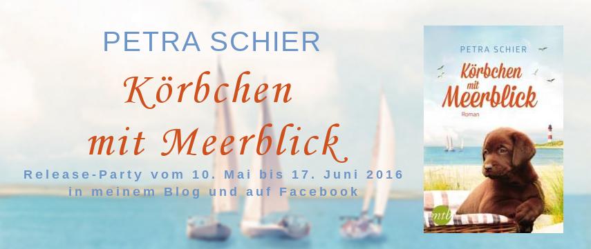 Banner Körbchen mit Meerblick Release-Party