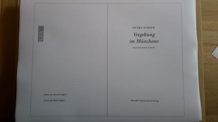 Foto Druckfahnen Vergeltung im Münzhaus