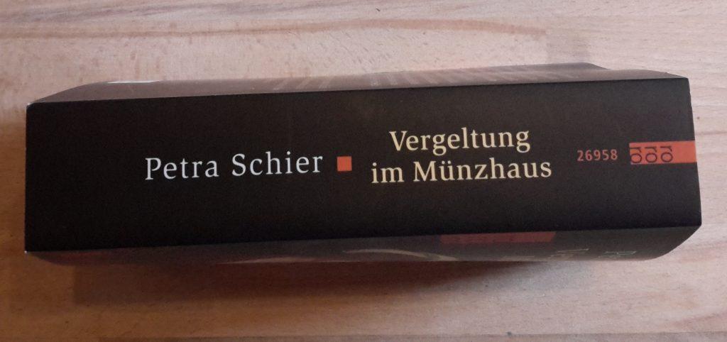 Vergeltung im Münzhaus Buchrücken
