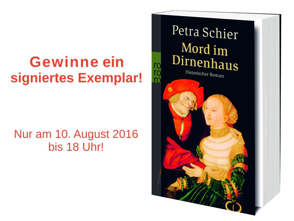 Gewinnspiel Mord im Dirnenhaus 10. August 2016