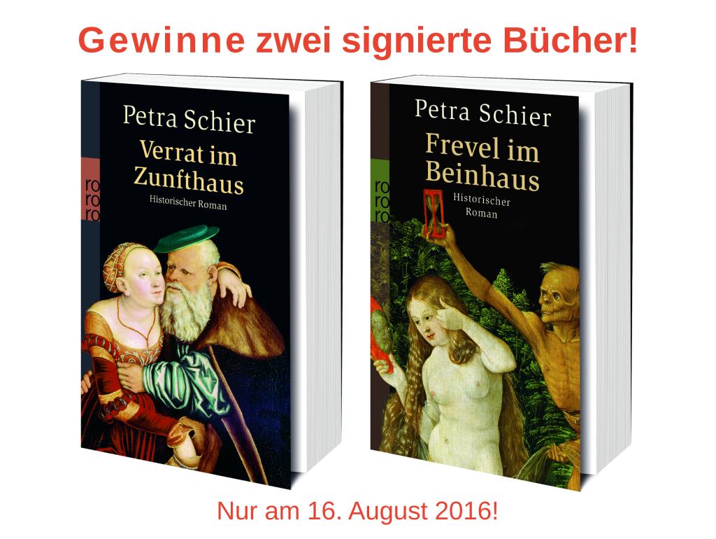 Gewinnspiel Release-Party Vergeltung im Münzhaus 16. August 2016 Banner