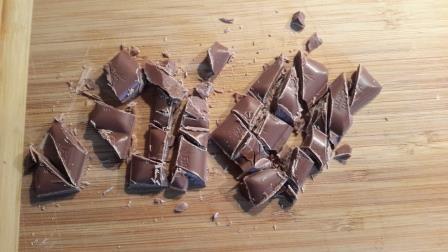 Schokolade, zerkleinert