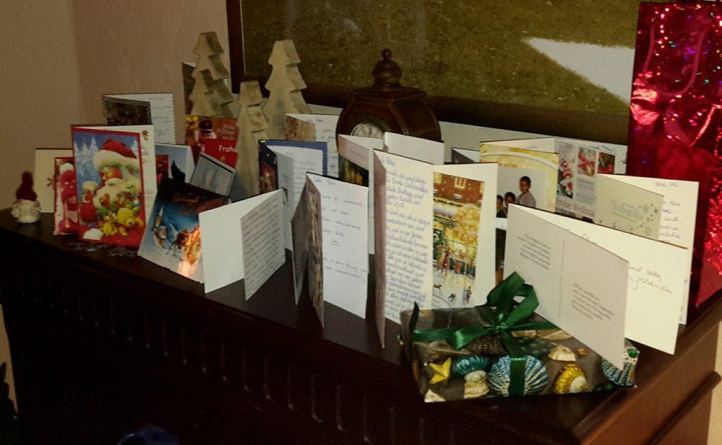 Weihnachtskarten (nachher), Teil 3