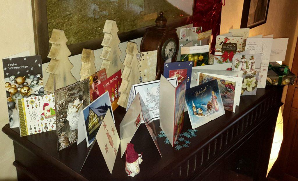Weihnachtskarten (nachher)