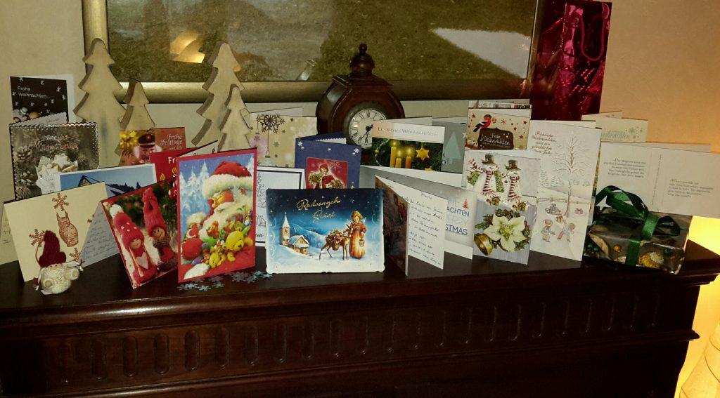 Weihnachtskarten (nachher), Teil 2