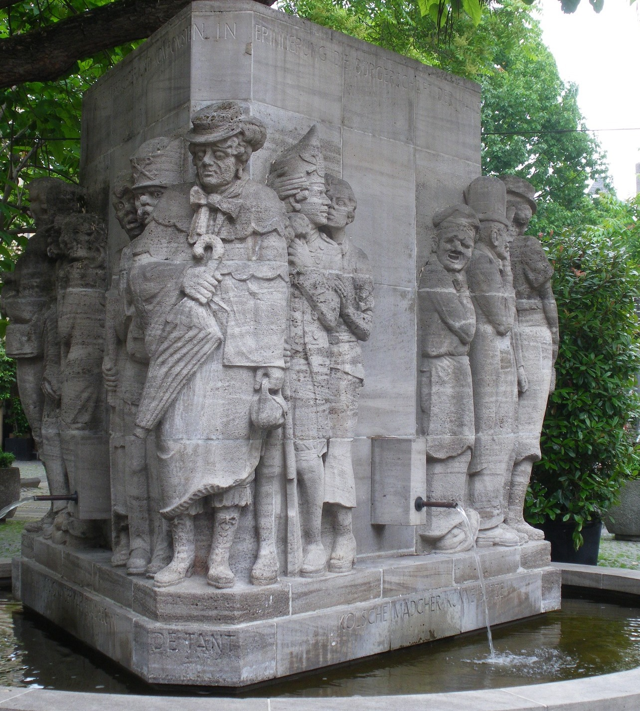 Ostermann-Brunnen in Köln