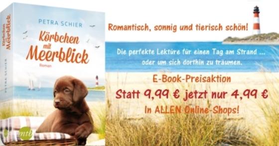 Preisaktion Banner Körbchen mit Meerblick