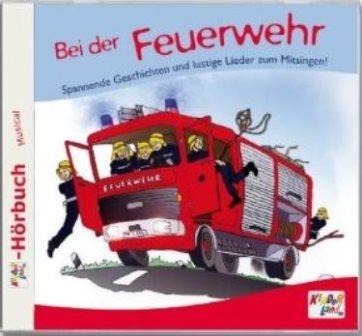 Cover Bei der Feuerwehr (Hörbuch)