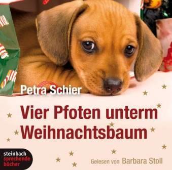 Cover Vier Pfoten unterm Weihnachtsbaum (Hörbuch)