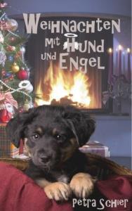 Weihnachten mit Hund und Engel