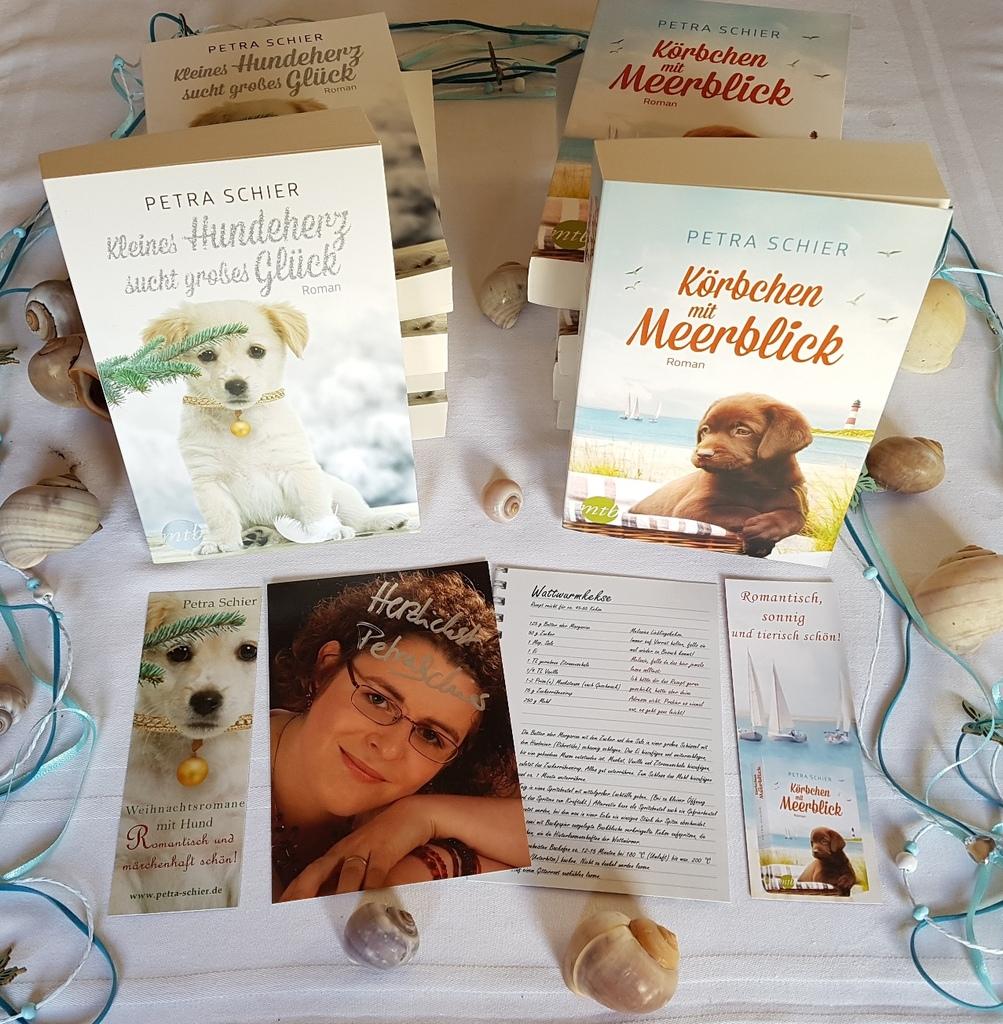 Gewinne eines von fünf Bücherpaketen von Petra Schier