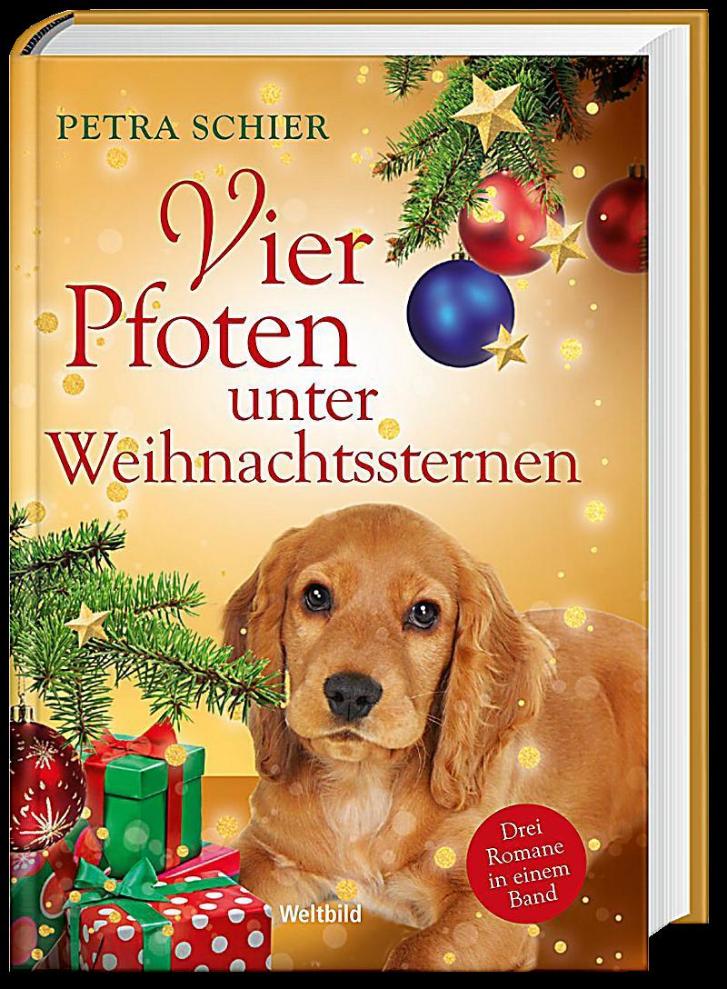 Cover Vier Pfoten unter Weihnachtssternen Sammelband
