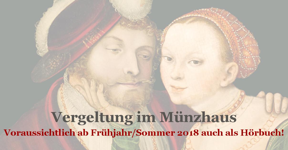 Banner Hörbuch Vergeltung im Münzhaus