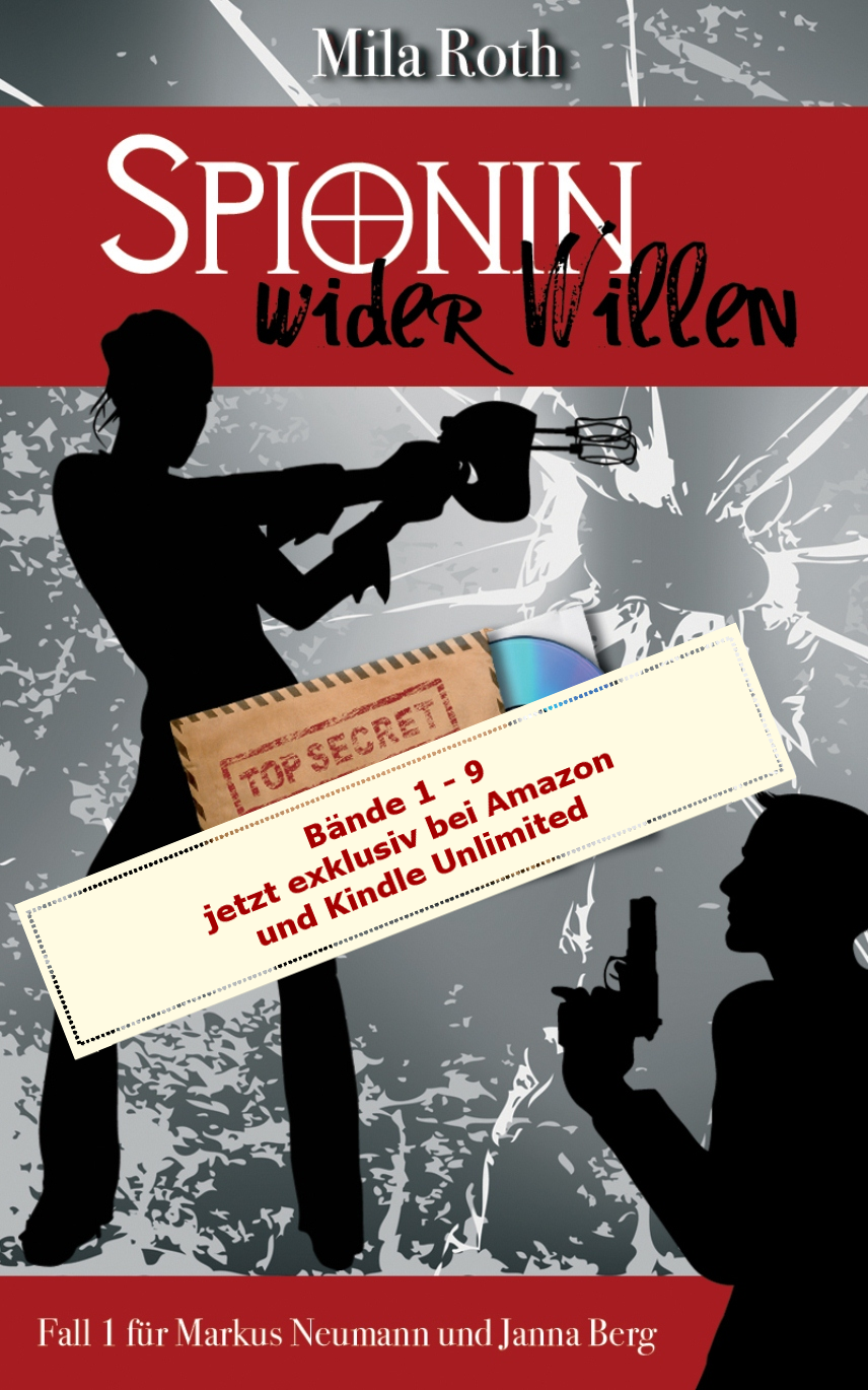 Spionin wider Willen1-9 bei Kindle Unlimited