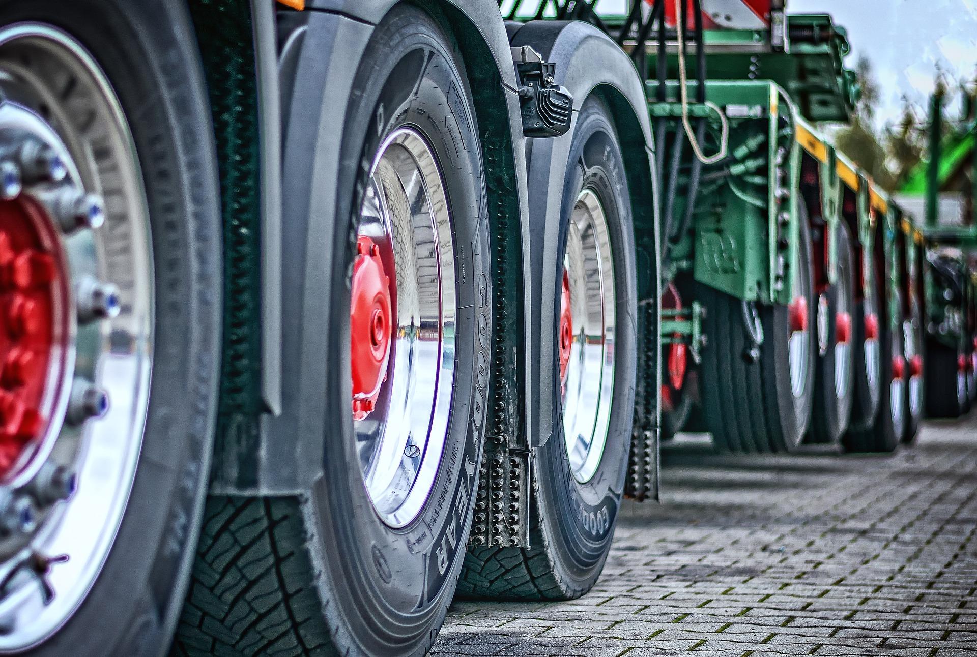 Foto Truckräder