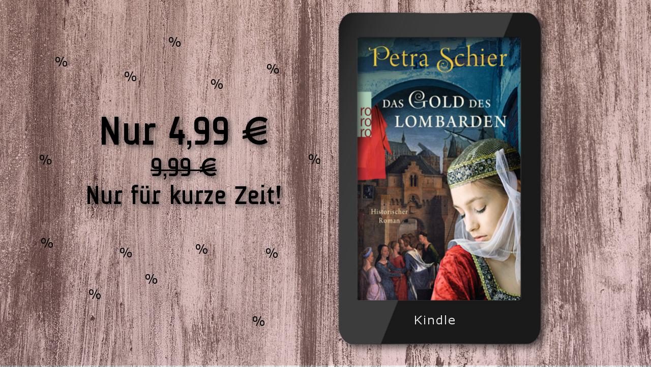 Banner Kindle Deal der Woche Das Gold des Lombarden