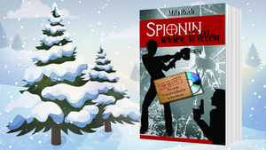 Banner Gewinnspiel Christmas in July 2018 Spionin wider Willen