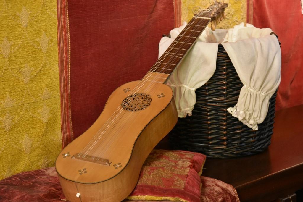 Musikinstrument Mittelalter