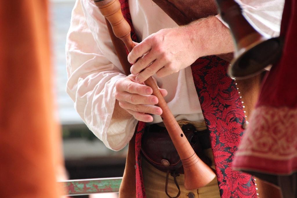 Flöte Schalmei