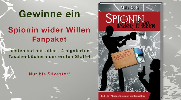 Banner Gewinnspiel Spionin wider Willen