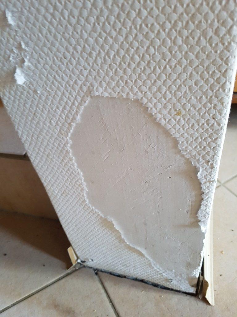 Foto Abgerissene Tapete - Arthos aus der Schublade