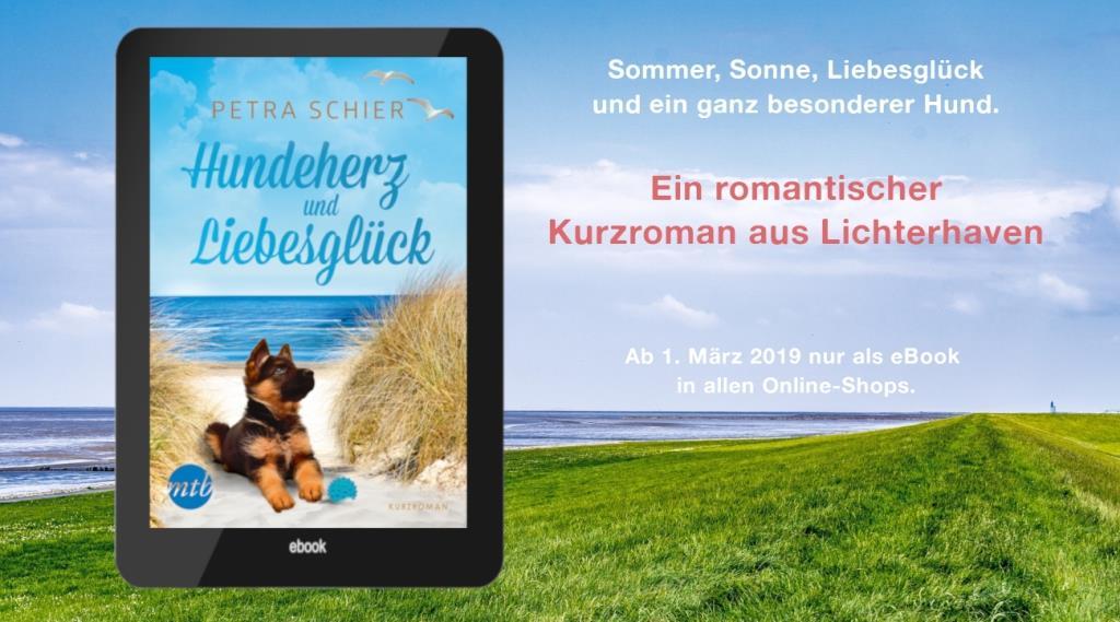 Hundeherz und Liebesglück - Ab 1. März 2019 als eBook in allen Online-Shops