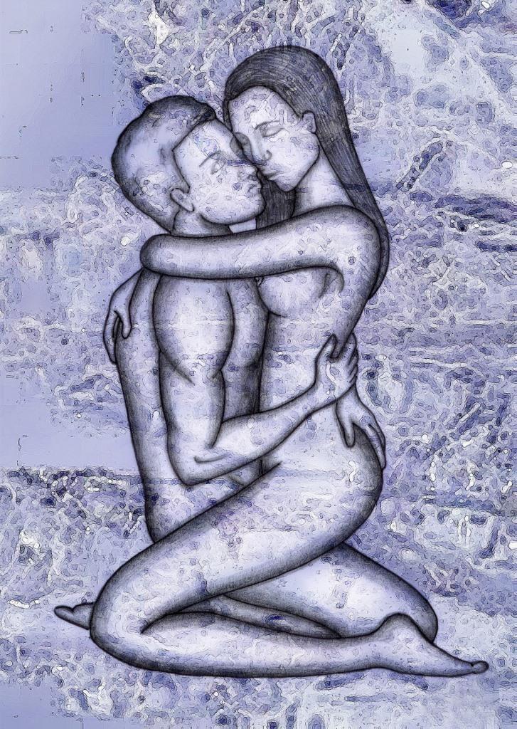 Abbildung Paar beim Sex