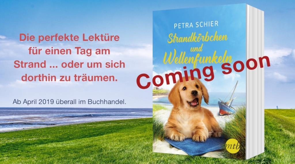 Coming soon - Strandkörbchen und Wellenfunkeln - April 2019