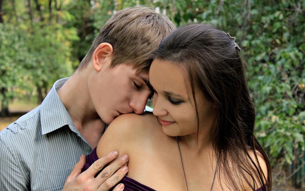 Zwei Jugendliche haben Sex