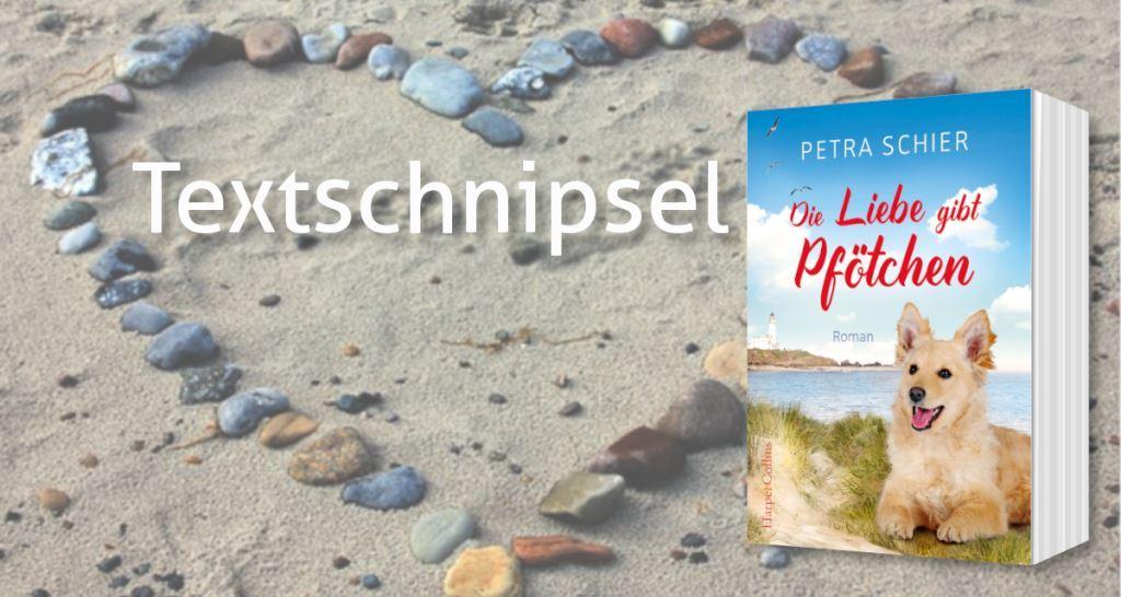 """Textschnipsel Nr. 3 aus """"Die Liebe gibt Pfötchen"""""""