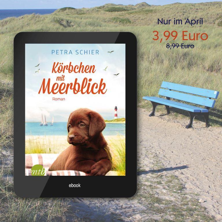 """Preisaktion im April für """"Körbchen mit Meerblick"""""""