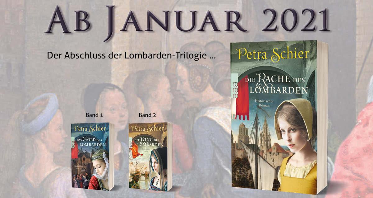 Der furiose Abschluss der Lombarden-Trilogie ... kommt 2021!