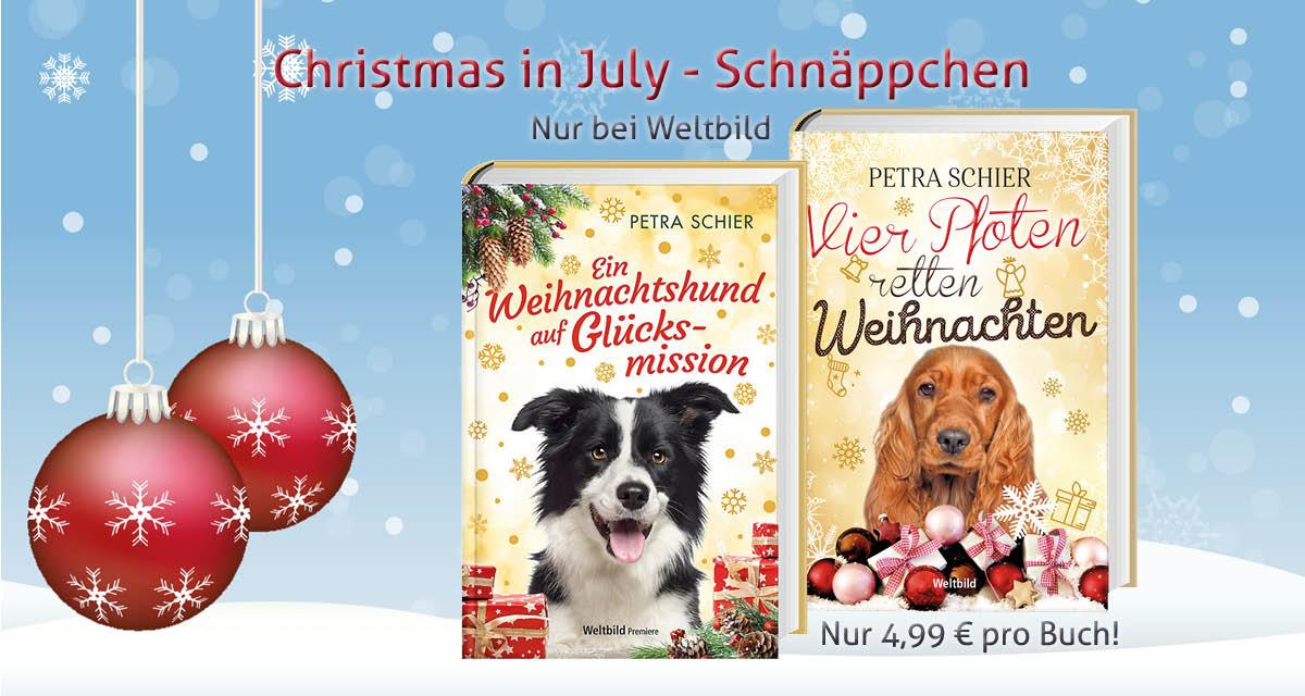 Christmas in July-Schnäppchen nur bei Weltbild