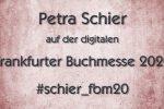 Petra Schier auf der digitalen Frankfurter Buchmesse 2020