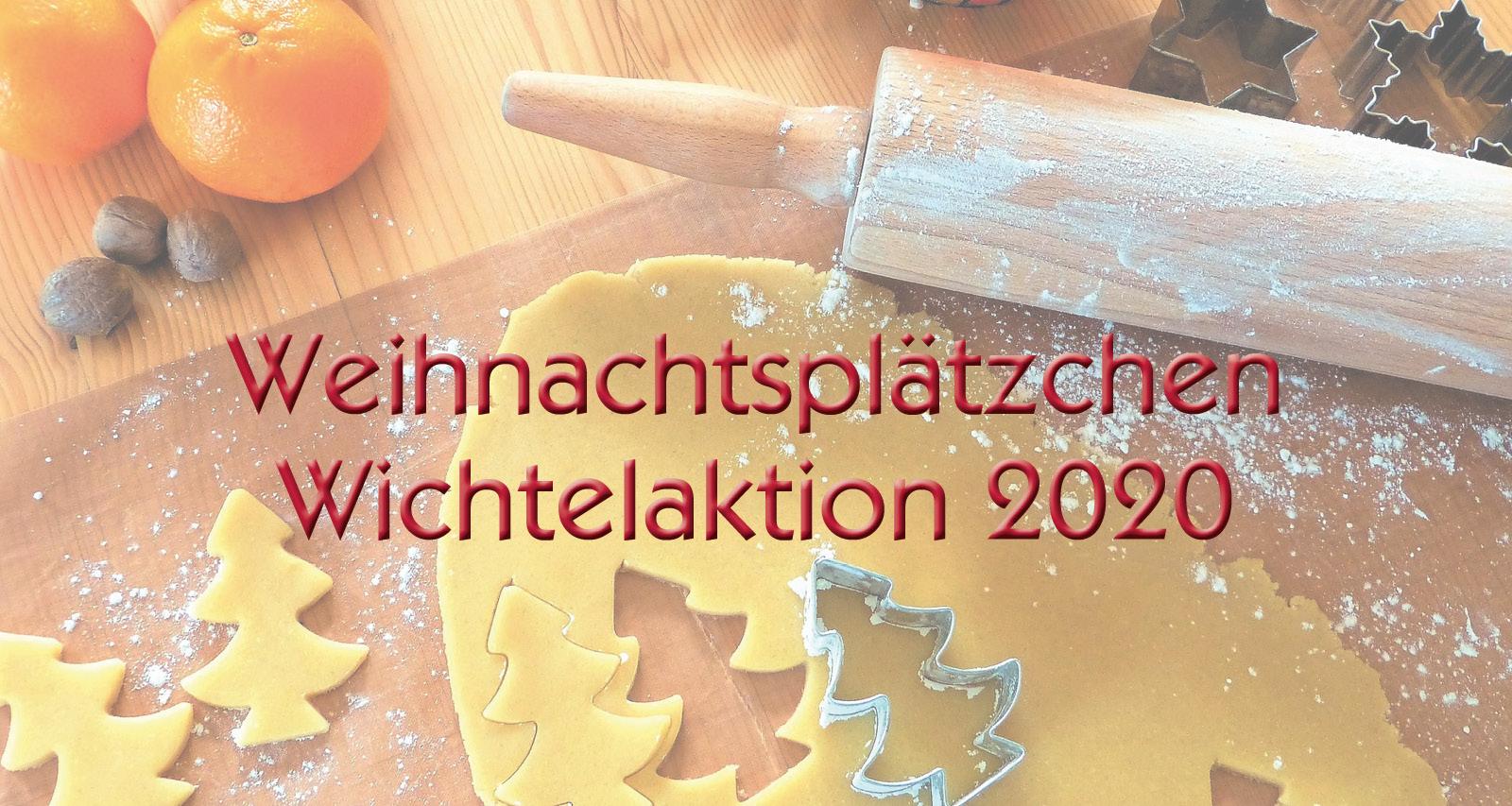 Weihnachtsplätzchen-Wichtelaktion 2020