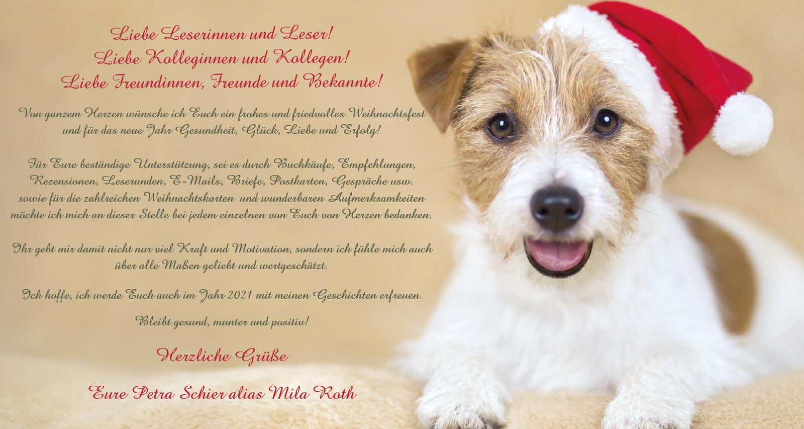 Weihnachtsgrüße Banner