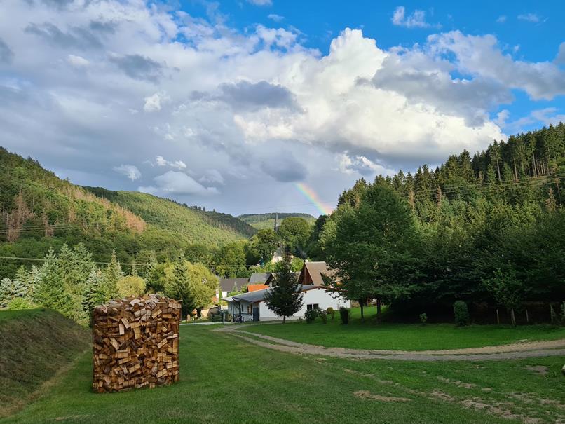 Foto Regenbogen über Niederheckenbach