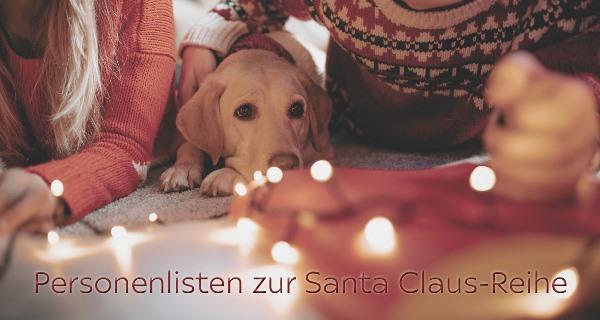 Personenlisten zur Santa Claus-Reihe