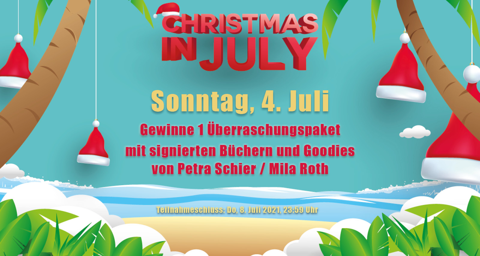 Christmas in July: Gewinnspiel ab 4. Juli 2021