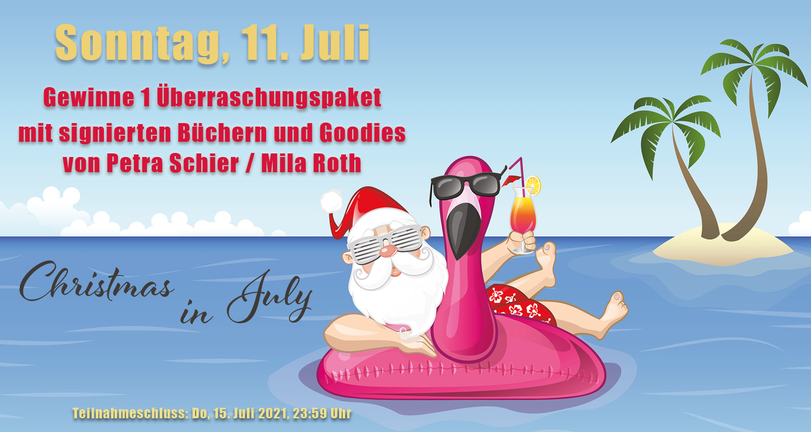 Christmas in July: Gewinnspiel ab 11. Juli 2021