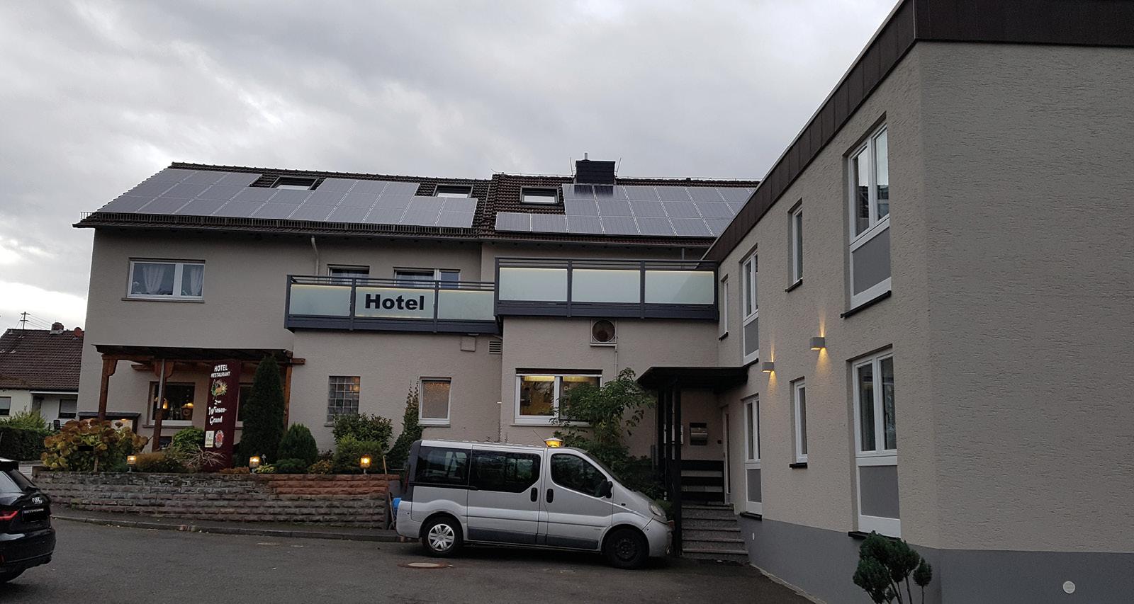 Abschiedsworte: An die Familie Fichtel und das Hotel Zum Wiesengrund