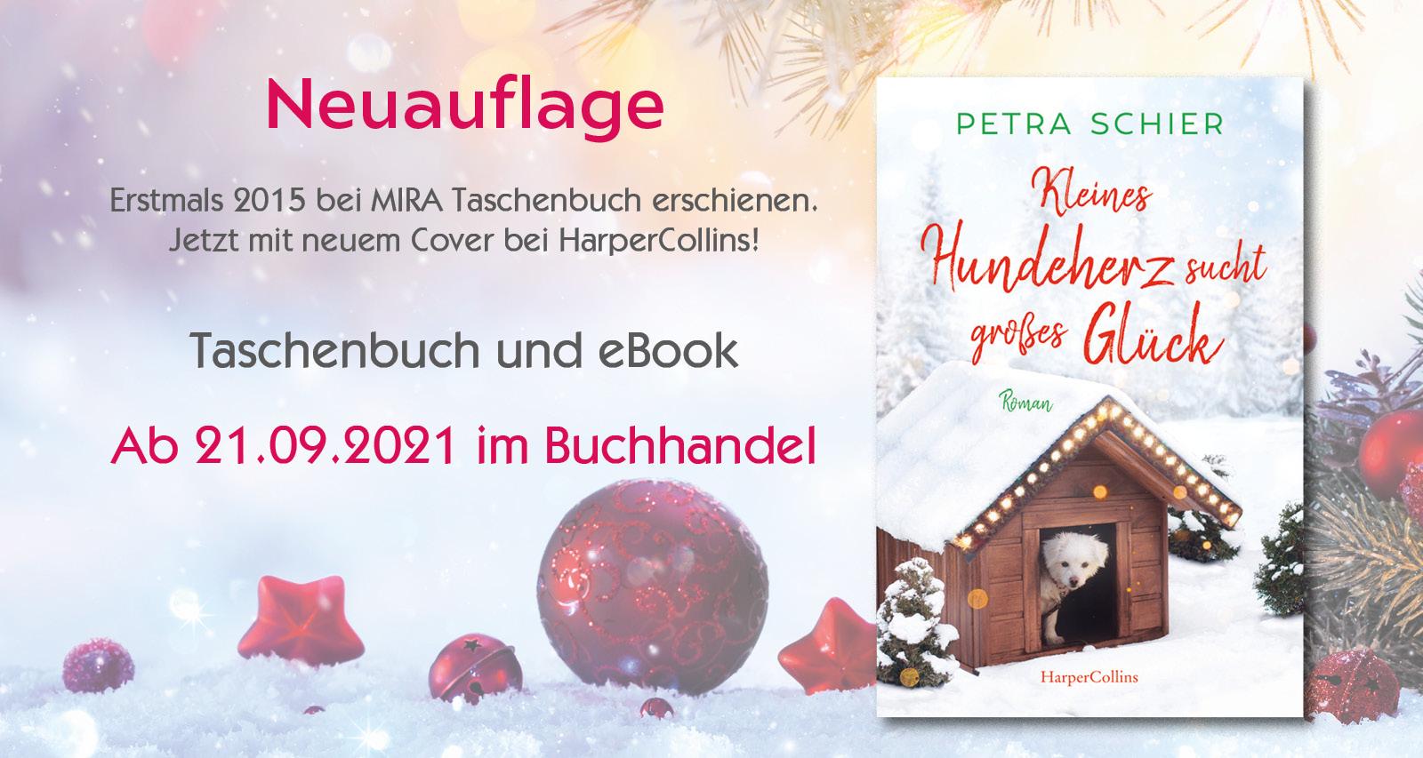 Neuauflage für ein zauberhaft romantisches Weihnachtsbuch