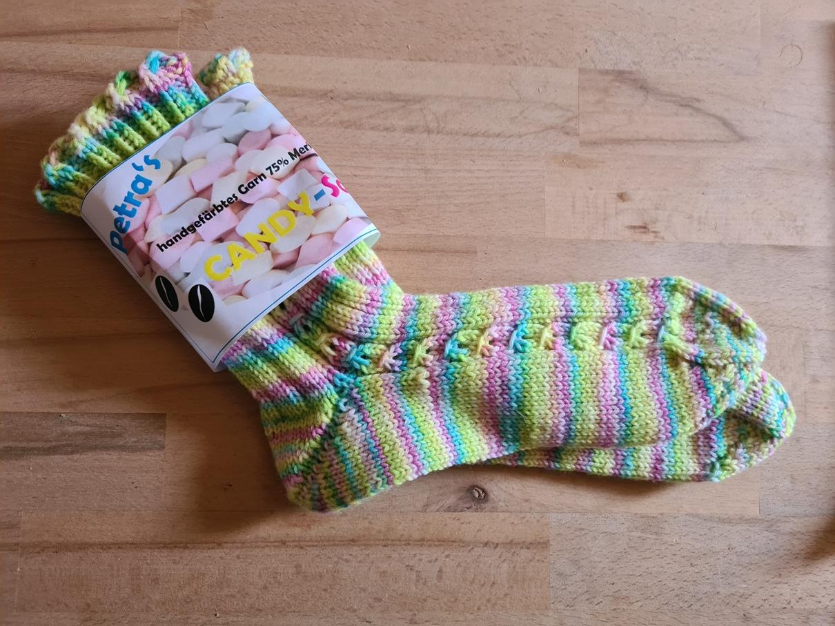 Kuschelige Socken für warme Füße