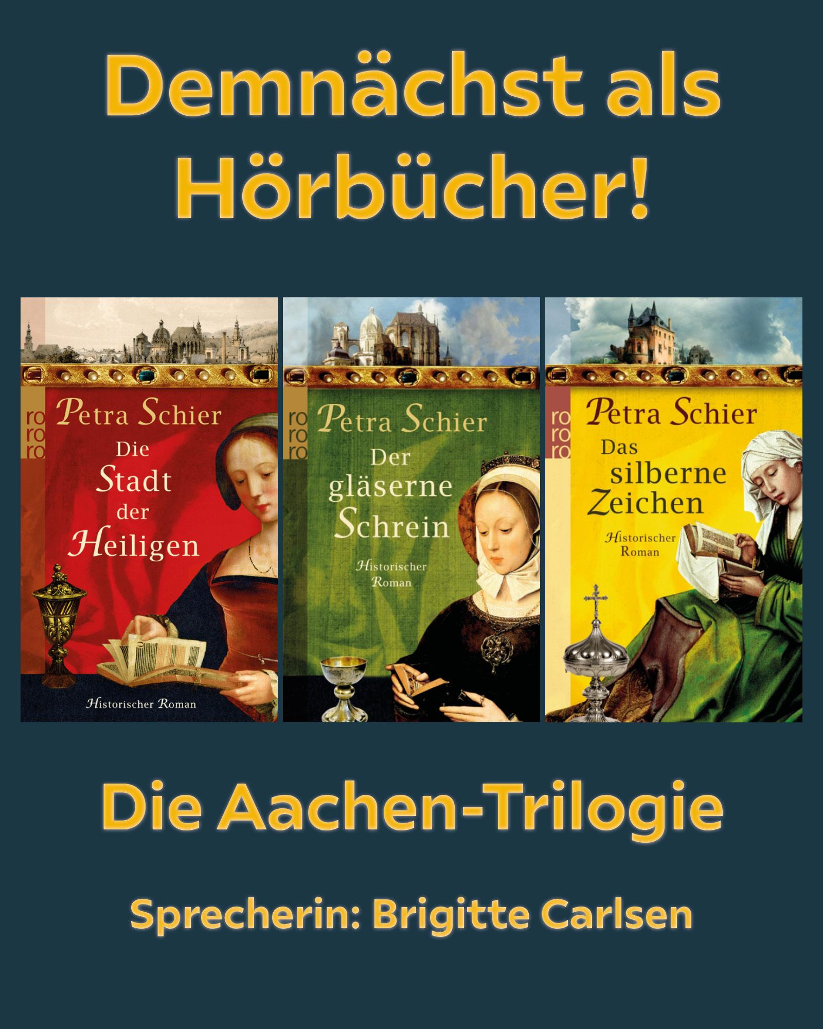 Die Aachen-Trilogie kommt ... als Hörbücher!