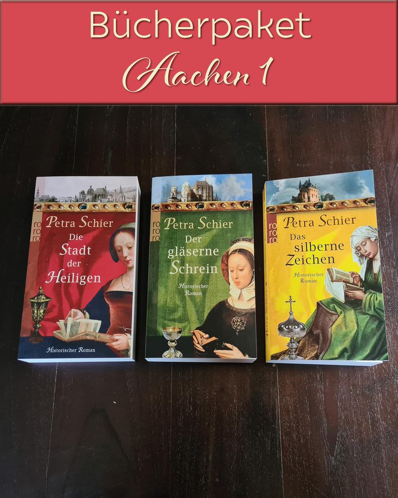 Weitere Versteigerungen: Adelina, Aachen, Weihnachtsromane und einiges mehr. Aber nur noch heute!