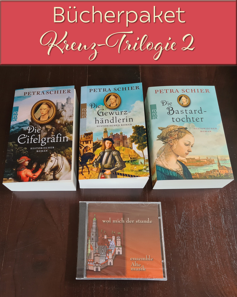 9., 10. und 11. Versteigerung: Kreuz-Trilogie, Hörbücherpaket, Hörbuchbox
