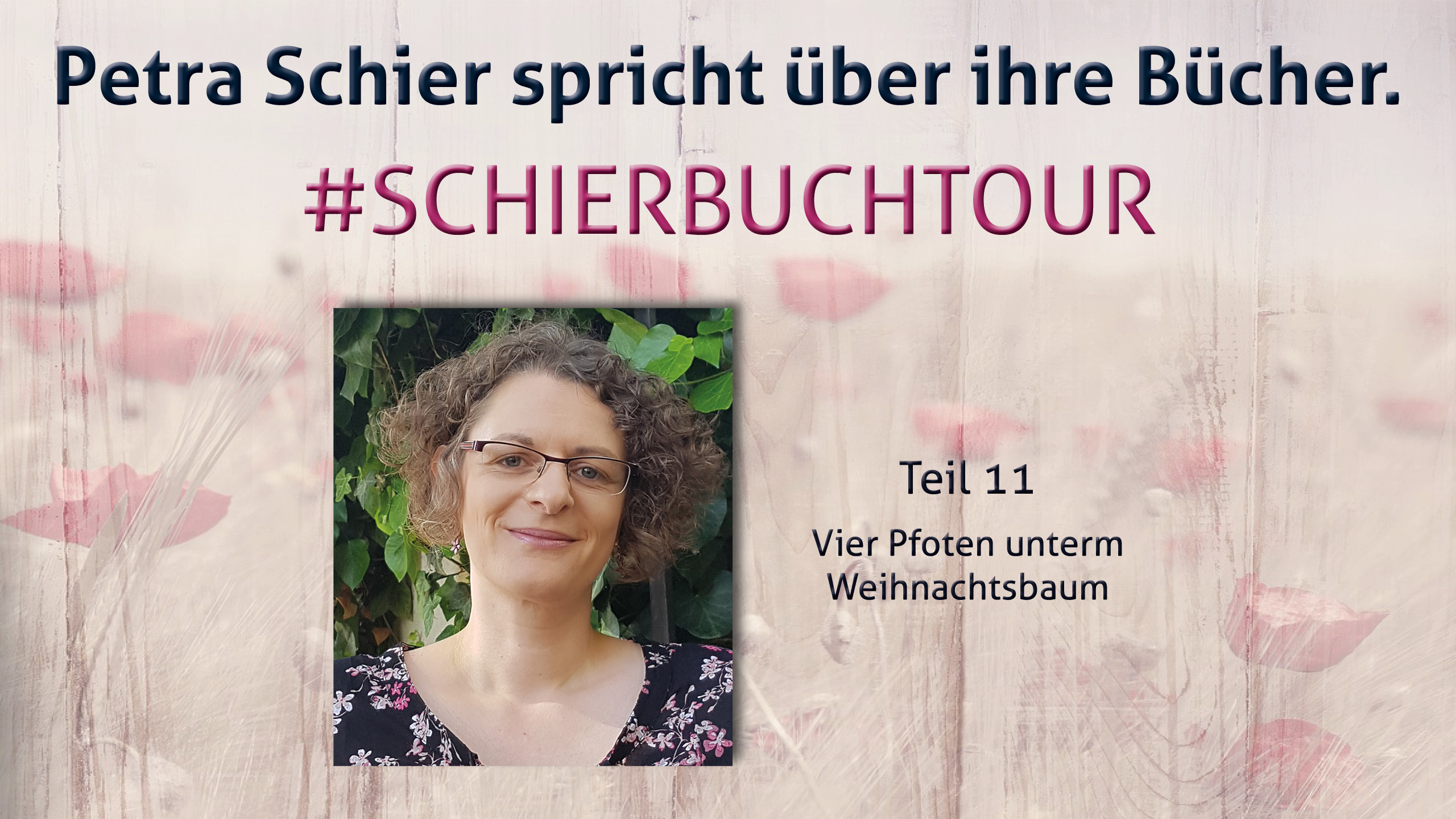 Buchtour mit Petra Schier: Teil 11 – Vier Pfoten unterm Weihnachtsbaum